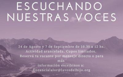 24/08 y 07/09 Encuentros de hijos adoptivos – Escuchando nuestras voces