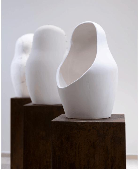 Esculturas de Virginia Jordá Re-contrucción adoptada